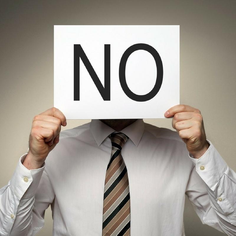 """Negócios: Porque é tão difícil ouvir um """"não""""?"""