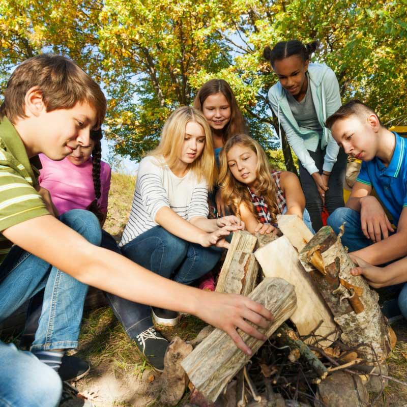 Campos de férias: A melhor experiência para os seus filhos!