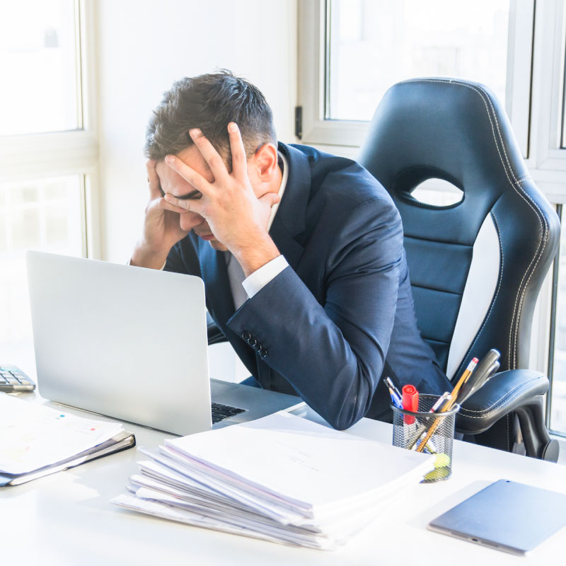 Síndrome de Burnout: Esteja atento aos sinais de alarme!